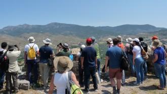 El projecte Geoparc de Tremp participa al Curs de Geoparcs a l'illa de Lesbos