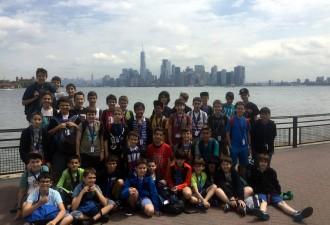 L'Escolania de Montserrat engega la seva gira pels EUA amb un concert a Nova Jersey