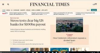 Vés a: El referèndum i l'«Espanya dividida» protagonitzen un extens reportatge al «Financial Times»