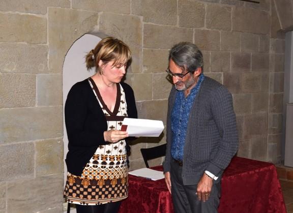 Joan Armengol s'endú el V Concurs de relats breus per a la gent gran