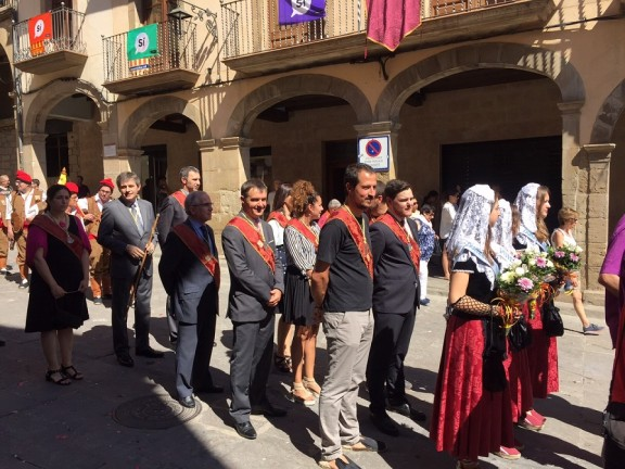 Solsona celebra Corpus amb un record per a Montoya i el trabucaire Ramon Vila