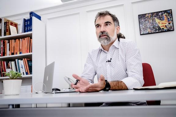 Jordi Cuixart: «La garantia del dret a l'autodeterminació passa per una vaga que aturi el país»