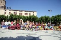 Més de 300 persones i onze colles fan gran la X Trobada de Gegants de Solsona