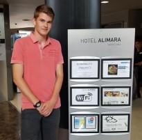 El solsoní Marc Segués rep el primer premi de Treballs de Recerca de la Fundació Gaspar Espuña-CETT