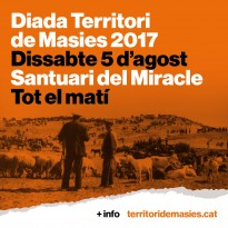 La Diada Territori de Masies girarà entorn la ramaderia i el producte local