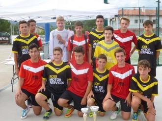 TransMoisès s'imposa al 10è Torneig de futbol sala Infantil al Pi de Sant Just