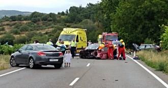 Vés a: Nou accident mortal, ara a l'N-II a Sant Julià de Ramis, al gironès