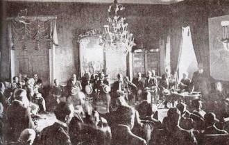 Vés a: Dissolució d'una reunió de diputats, 1917: l'última vegada que la Guàrdia Civil va entrar al Parlament