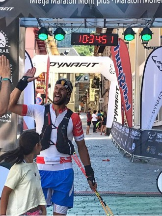 Atletes del CES a la Trail-Marató Vielha Molières 3010