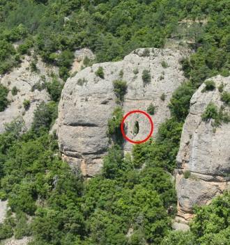 Canalda inaugura la ruta geològica de l'avenc Montserrat Ubach