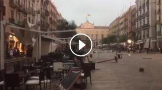 Vés a: Fortes ventades, acumulació d'aigua i talls de llum: el balanç del temporal