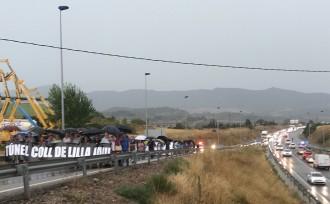 Vés a: Una manifestació reclama el túnel del coll de Lilla després dels dos morts a la C-14