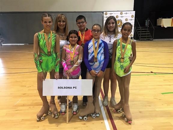 El Solsona Patí Club representat per 5 patinadors a la final d'Iniciació