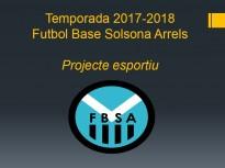 Comença la temporada del Futbol Base Solsona Arrels