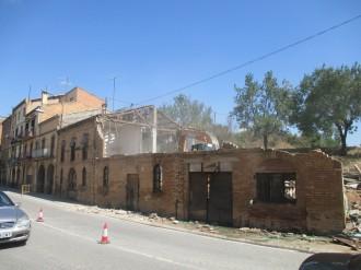 Adéu a l'edifici del revolt de Cal Sala