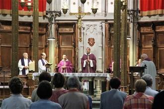 El bisbe de Solsona presideix una missa exequial pel bisbe Deig
