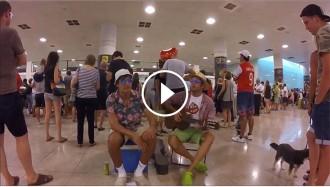«No volaré», el nou èxit viral de Lo Pau de Ponts sobre el conflicte a l'aeroport del Prat