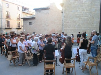 Solsona se solidaritza amb les víctimes de l'atemptat de Barcelona