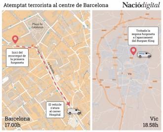 Vés a: Tot el que sabem i el que no sabem de l'atac a Barcelona