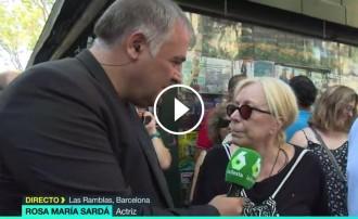 Vés a: VÍDEO Rosa Maria Sardà: «És molt trist que només ens uneixi la gran desgràcia»