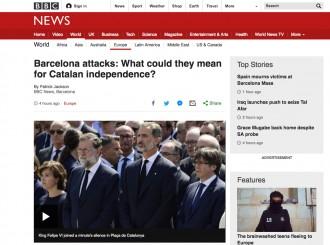 Vés a: La BBC analitza com pot afectar l'atemptat terrorista al procés