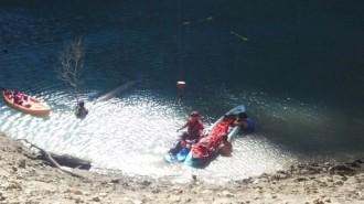 Vés a: Rescaten en estat greu un home de 58 anys que ha caigut al congost de Mont-rebei