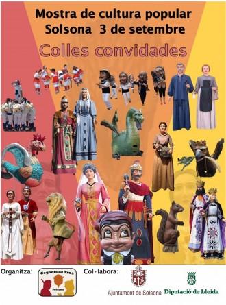 Gegants del Tros organitza la Mostra de Cultura Popular de Solsona