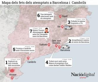 Vés a: Tot el que sabem i el que no sabem dels atemptats a Barcelona i Cambrils