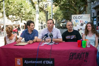 Vés a: Les Festes del Tura 2017 d'Olot reuniran 150 actes i presenten canvis i novetats