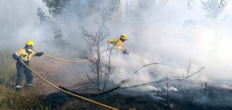Vés a: Estabilitzat l'incendi de Navarcles després de cremar 12,2 hectàrees