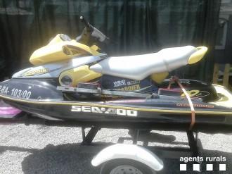 Denunciat per navegar amb moto d'aigua pel pantà de Sant Ponç