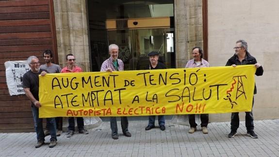 Vés a: El Pallars Jussà es mobilitza contra la MAT projectada entre Isona i Penyalba