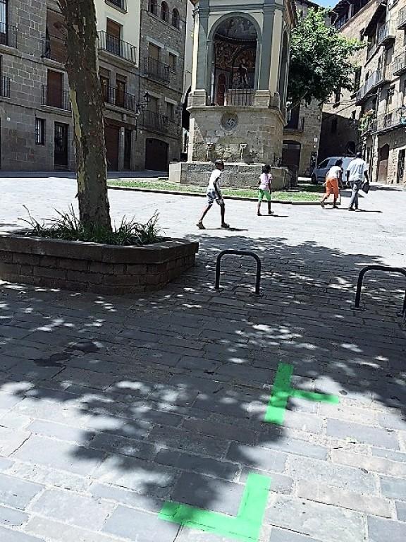 S'acaba el període informatiu de l'estacionament limitat de Sant Joan i Sant Salvador de Solsona