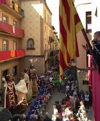 Arrenca la 364a Festa Major de Solsona amb la trabucada del 'Rosta Xic'