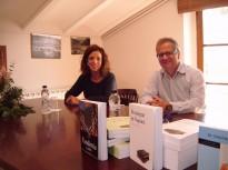 Toni Fernández presenta els seus llibres a Tiurana
