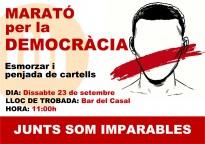 Òmnium Solsonès organitza una Marató per la Democràcia