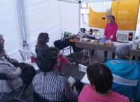 La primera biofira de Solsona crea un espai de jocs per a les famílies