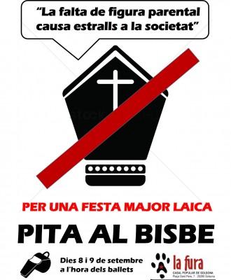 El Casal Popular La Fura convoca a una xiulada popular contra el Bisbe