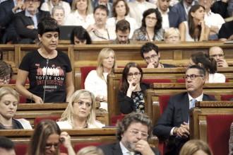 Vés a: La CUP demana proclamar ja la independència contra l'aplicació del 155