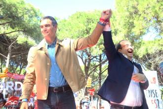 Vés a: Pedro Sánchez i Iceta descarten investir Arrimadas