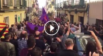 Vés a: VÍDEOS «L'estaca» també ressona a la Puerta del Sol de Madrid