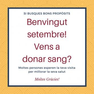 Solsona acollirà una nova donació de sang