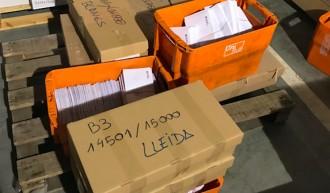 Vés a: La Guàrdia Civil confirma que ha confiscat 45.000 notificacions als membres de les meses de l'1-O