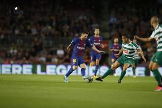Vés a: El Barça s'imposa amb claredat a l'Eibar amb quatre gols de Messi (6-1)