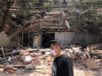 Vés a: Més d'un centenar de morts en un terratrèmol de magnitud 7,1 a Mèxic