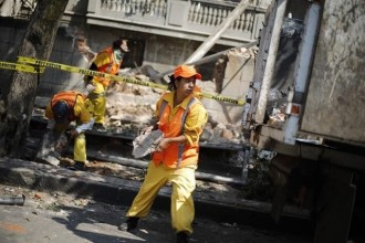 Vés a: Almenys 194 morts en un terratrèmol de magnitud 7,1 a Mèxic
