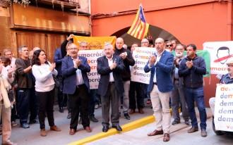 Els alcaldes de la Pobla i Sant Esteve de la Sarga es neguen a declarar pel cas de l'1-O