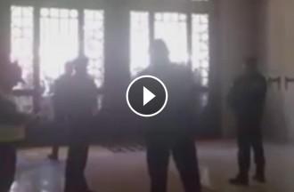 VÍDEO Això és el que sent la Guàrdia Civil dins l'edifici del Departament d'Economia