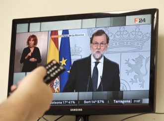 Vés a: Rajoy, al Govern: «Aquest referèndum ja no es pot celebrar, és una quimera»