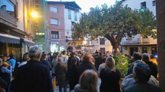 Sant Llorenç de Morunys surt al carrer per la llibertat i contra la repressió
